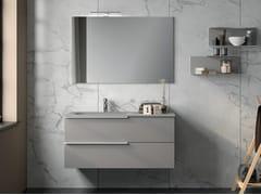 Mobile lavabo laccato con cassettiUR24 | Mobile lavabo - MOBILTESINO