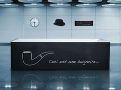 Vasca da bagno centro stanza rettangolareURBAIN | Vasca da bagno centro stanza - AQUADESIGN STUDIO