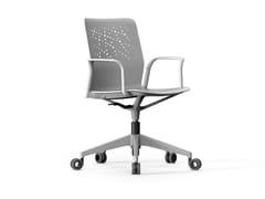 Sedia ufficio a 5 razze con braccioliURBAN-BLOCK | Sedia ufficio con braccioli - ACTIU