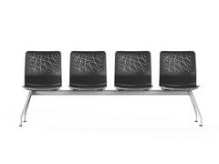 Seduta su barra a pavimentoURBAN-BLOCK   Seduta su barra - ACTIU