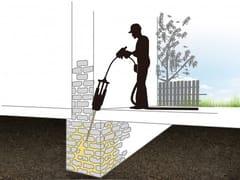 URETEK ITALIA, URETEK WALLS RESTORING Consolidamento murature con iniezione di resina espandente