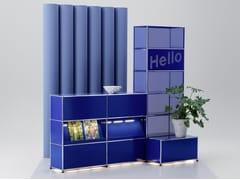 Banco reception per ufficio modulare con illuminazioneUSM HALLER E | Banco reception per ufficio - USM MODULAR FURNITURE