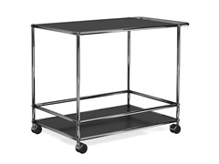 Carrello bar in metallo USM HALLER SERVING CART FOR DINING ROOM - USM MODULAR FURNITURE