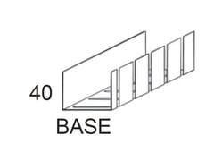 Guida flessibile per pareti curveUW 75 FLEX - CIPRIANI PROFILATI