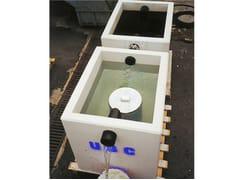 Vasca filtro di coalescenza rettangolareV.F.I. | Vasca coalescenza rettangolare - PIRCHER