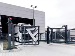 WISNIOWSKI, V-KING Cancello industriale in metallo
