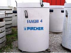 Pircher, V.R.F. 4 SG Vasca raccolta fanghi circolare
