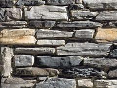 Rivestimento in pietra ricostruitaVALDOSTANO P76 | Grigio Chiaro - GEOPIETRA
