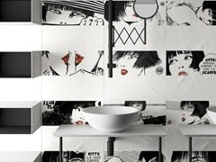 Rivestimento in gres porcellanato a tutta massa per interniVALENTINA BY GUIDO CREPAX - CERAMICA DEL CONCA