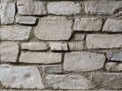 Rivestimento in pietra ricostruitaVALLESE P18 | Bianco Terra - GEOPIETRA