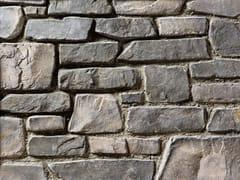 Rivestimento in pietra ricostruitaVALLESE P18 | Grigio Terra - GEOPIETRA