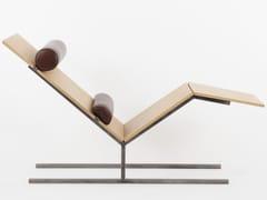 Chaise longue in derivati del legnoVANEAU | Chaise longue - ALEX DE ROUVRAY DESIGN
