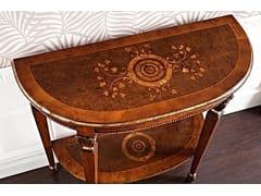 Consolle a mezzaluna in legno masselloVANIA | Consolle - ARVESTYLE