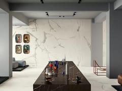 Pavimento/rivestimento in gres laminato effetto marmoVANITY - BIANCO STATUARIO - COTTO D'ESTE