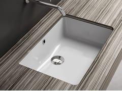 Lavabo da incasso sottopiano rettangolare in ceramica LAVABI D'ARREDO | Lavabo in ceramica - Lavabi d'arredo