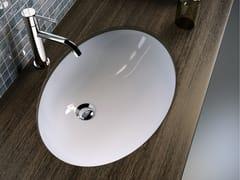 Lavabo da incasso sottopiano ovale LAVABI D'ARREDO | Lavabo da incasso sottopiano - Lavabi d'arredo
