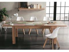 Tavolo allungabile rettangolare in rovereVARADERO - ALTA CORTE