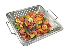 Accessorio per barbecue in acciaioVASSOIO WOK - BROIL KING ITALIA • MAGI&CO