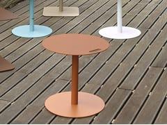 Tavolino quadrato in alluminio per contractVEDET R - ADICO