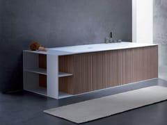 Vasca da bagno rettangolare in Solid SurfaceVEER | Vasca da bagno - BLUBLEU