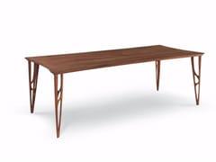 Tavolo rettangolare in legno massello VEGAN | Tavolo rettangolare - Vegan