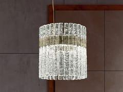 Lampada a sospensione a LED in vetro con dimmerVEGAS S RD 40 - MASIERO