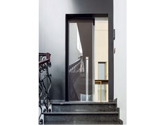 Porta d'ingresso blindata scorrevole a pannello unicoVELA   Porta d'ingresso - OIKOS VENEZIA