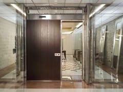Porta d'ingresso blindata scorrevole in legnoVELA   Porta d'ingresso in legno - OIKOS VENEZIA