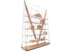 Libreria in legno e vetro838 VELIERO - CASSINA