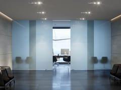 FARAONE, VELO COMPACT Porta acustica scorrevole in alluminio e vetro