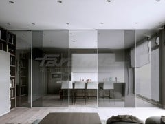 FARAONE, VELO ALU Porta scorrevole in alluminio e vetro