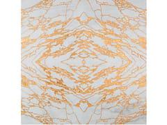 Palazzo Morelli, VENA ORO Pavimento/rivestimento foglia oro e marmo Calacatta