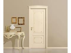 Porta laccata in legno massello con decoro VENEZIANA - Veneziana