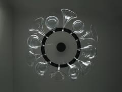 Lampada a sospensione a LED in vetroVENICE - AXIS71