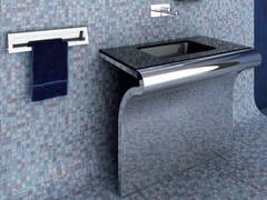 Lavabo rettangolare in vetroVENTI | Lavabo in vetro - COMPONENDO