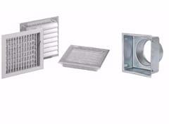 Griglia di ventilazione in alluminioGRIGLIA CON ALETTE REGOLABILI - DAKOTA GROUP