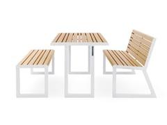 Urbantime, VENTIQUATTRORE.H24   Tavolo per spazi pubblici  Tavolo per spazi pubblici
