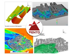 Software CFD per la simulazione della galleria del ventoVENTO AEC - CSPFEA