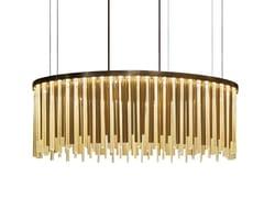 Lampada a sospensione a LED in vetro di MuranoVENUS - PAOLO CASTELLI