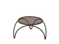 Tavolino basso da giardino rotondo in acciaio VERA | Tavolino basso - Vera