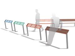 Panchina in acciaio senza schienaleVERA | Panchina in acciaio - MMCITÉ1