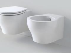 Bidet sospeso in ceramica VERA | Bidet sospeso - Vera