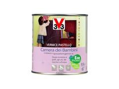 Vernice ipoallergenica color pastello per legnoVERNICE CAMERA DEI BAMBINI - V33 ITALIA