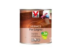 Vernice all'acqua per legno internoVERNICE PER LEGNO SATINATO - V33 ITALIA