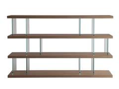 Libreria a giorno in legno e vetroVERO   Libreria - G.&F.