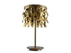 Lampada da tavolo a LED in ottone VERONICA | Lampada da tavolo - Veronica