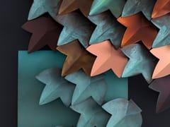 Rivestimento tridimensionale modulare in rameVERTICAL GREEN - DE CASTELLI