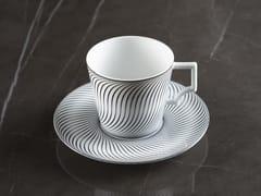 Tazza da caffè in porcellana con piattinoVERTIGE | Tazza da caffè - EXTRANORM