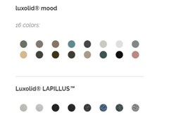 Piatto doccia antiscivolo incassato in Luxolid®VESUVIUS SOLID | Piatto doccia incassato - RELAX DESIGN