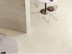 CERAMICA SANT'AGOSTINO, VIA APPIA CROSS CUT IVORY Pavimento/rivestimento in gres porcellanato effetto marmo